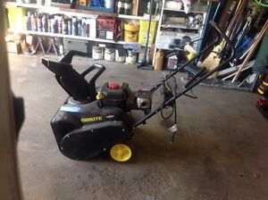 """Electric start gas powered 22"""" smowblower"""