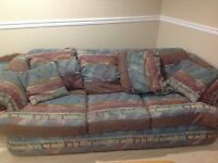 Comfy, clean couch. Price negotiable.