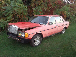 Parting out 1980 Mercedes D300
