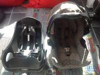 Graco car seat and base
