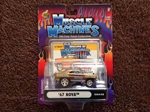 Die cast Adult collectables few steps up from Hot Wheels