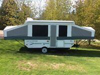 12 foot Rockwood Tent Trailor