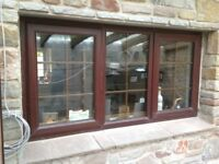 upvc rosewood Window