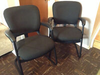 Chairs Reception Area $50 each