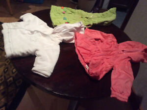 BABY GIRLS WARM OR SUMMER CLOTHES- SHOES - BOOTS