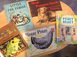 Lot of 5 vintage children's books