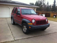 2007 Jeep Liberty SPORT 4X4, AUTOMATIC, AIR CONDITION