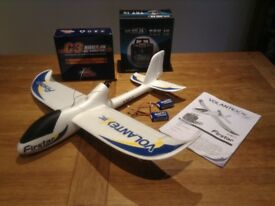 Radio Controlled Motorized Glider Flown Once