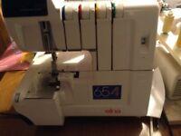 Elna overlocker sewing machine
