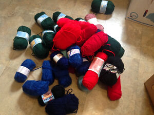 Knitting Wool for Hand Made Clothes Large Lot Of 80+ 2 Boxes $80 Kitchener / Waterloo Kitchener Area image 2