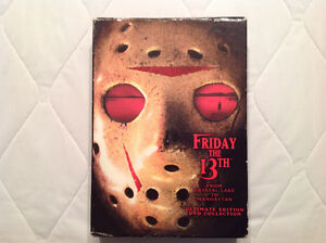 Friday the 13th DVD ultimate collection. Version francaise incl