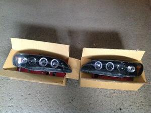 98-02 Honda Accord Halo Projector Headlights