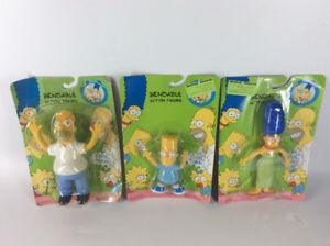 "1990  ""The Simpsons"" Bendable Action Figures"