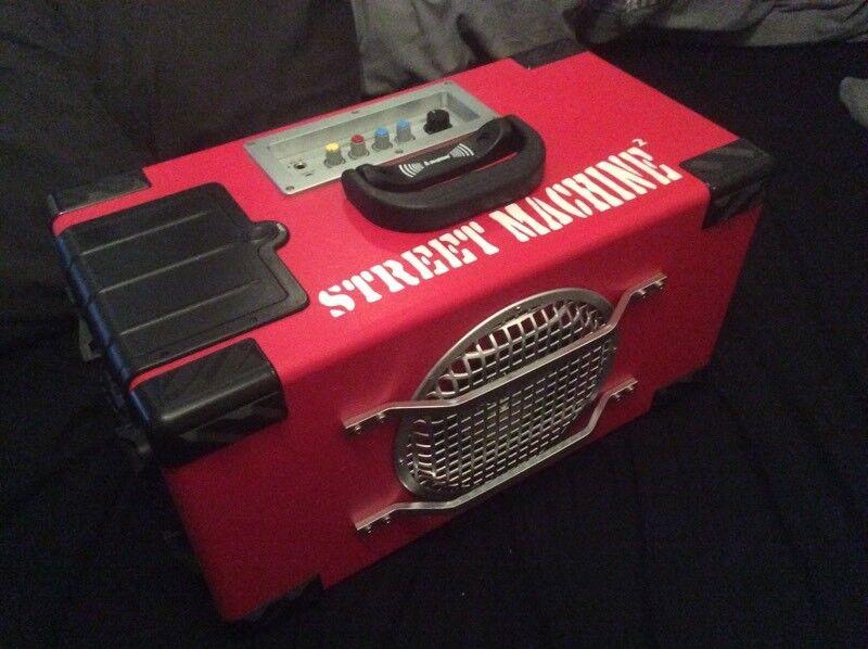 Street machine boom box