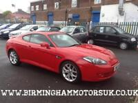 2008 (08 Reg) Hyundai Coupe 2.0i SIII AUTOMATIC 3DR Coupe RED + 2 KEYS