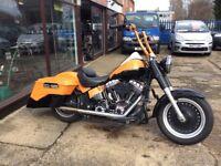 Custom Harley Davidson Fat Boy Bagger 1584cc 2011 VGC More Custom Bikes Available