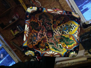 Authentic Mexican painted. Sink