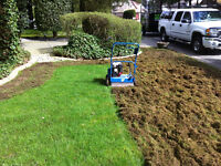 Northwest power rake and aerate - $90
