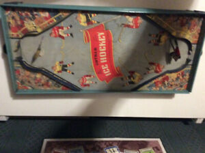 Vintage 1930s Gotham City  table top hockey game.   G200 model