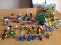 ASSORTED LEGO FIGURES, CARS, ACCESSORIES ETC