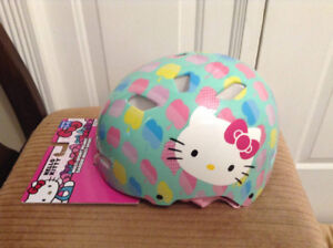 HELLO KITTY multi-sport Helmet.  From BELL Sports. Ages 5-8.