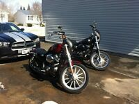 2009 SUNGLOW RED 883 Sportster