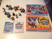 Skylander gaints and trap team and other figures