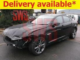 2015 Jaguar XF R-Sport D Auto 2.2 DAMAGED REPAIRABLE SALVAGE