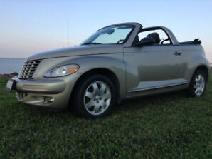 2005 CONVERTIBLE PT CRUISER (SELL OR TRADE)