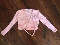 Cremona Dance logo ballet wrap for girls