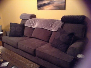 Couch, Chair, Ottoman