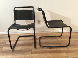 1x Mart Stam Style Vintage Chair-Chaise Style Mart Stam