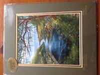 4 landscape prints