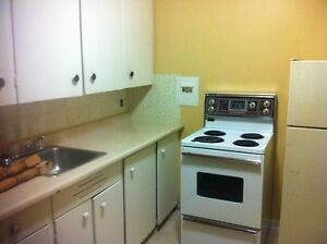 Clean, quiet, non smoking, one bedroom apartment on Main Street.