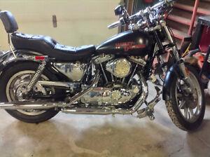 1983 Harley Davidson Sportster Iron Head 1000 cc