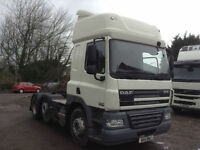 DAF CF 85 460 6x2 SLEEPER