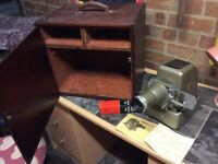 Aldis Star Projector vintage with wooden box