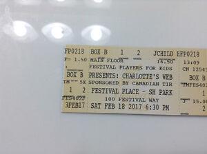 Charlotte's Web. Saturday Feb 18 @ 630 pm