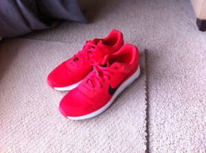 RED Nike size 10.5