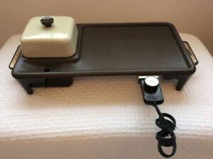 """Jubilee """"Breakfast Nook"""" Home Griddle (great cond. & complete)"""