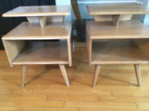 Solid Maple Vilas End Tables