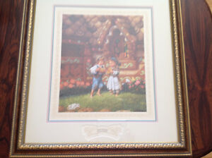 Hansel and Gretel Limited Edition Print by Scott Gustafson