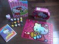 HELLO KITTY storybook, puzzle, Dvd