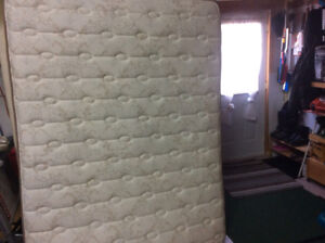 Bran New box spring and mattresses paid $1000 asking  $400