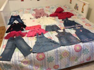 15 pc girl clothes for just 35 $.Size 2 T