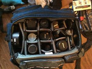 Nikon, Minolta lenses and cameras