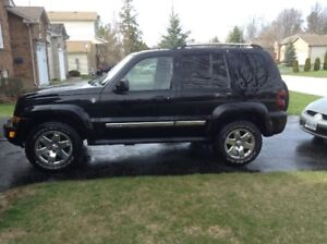 2007 Jeep Liberty lether SUV, Crossover