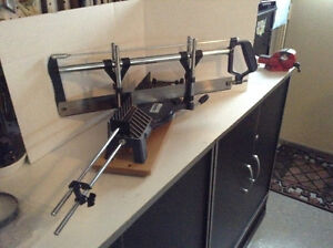 FOR SALE:  MITRE SAW, MASTERCRAFT - DELUXE MODEL