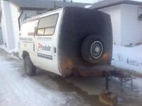 Fore sale or trade nice inclosed utility trailer