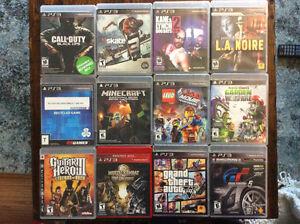 Jeux de PS3